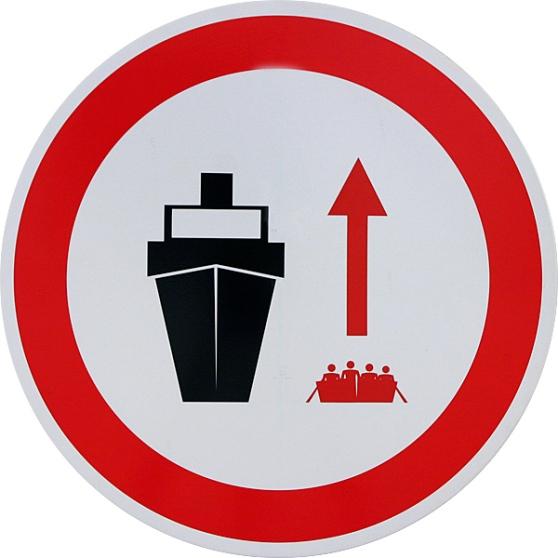 no navio