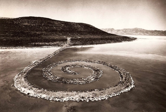 Robert-smithson-From-point-to-Salt-Lake