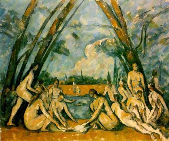 Paul+Cezanne+-+Large+Bathers+(Philadelphia)+
